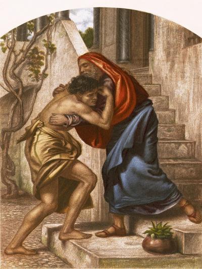 Return of the Prodigal Son-English-Giclee Print