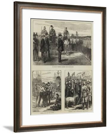 Return of the Troops from the Ashantee War--Framed Giclee Print
