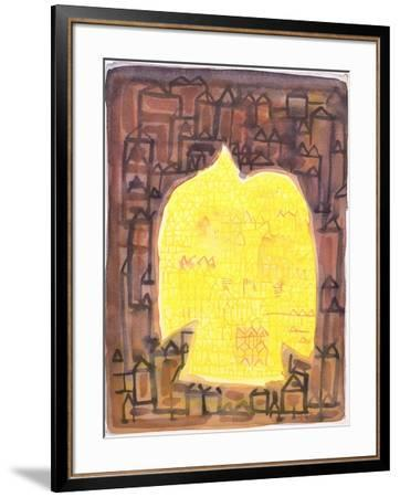 Return to the City, 1990-Peter Davidson-Framed Giclee Print