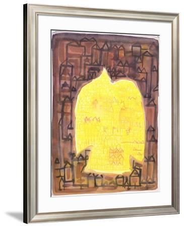 Return to the City, 1990-Peter Davidson-Framed Giclee Print