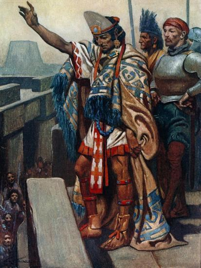 """""""Return to Your Homes. Lay Down Your Arms""""-James Henry Robinson-Giclee Print"""