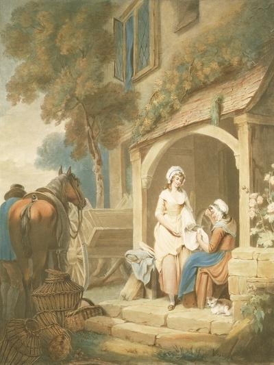 Returned from Market, Engraved by W. Annis, Pub. by Morgan and Pearce, 1803-Francis Wheatley-Giclee Print