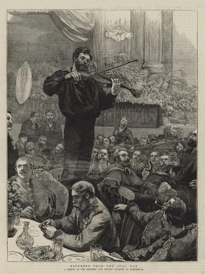 Returned from the Zulu War--Giclee Print