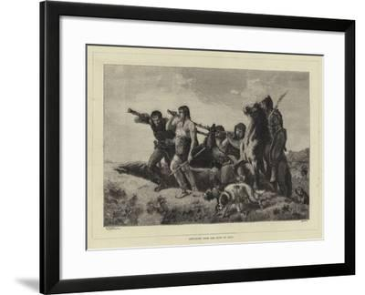 Returning from the Hunt in Gaul--Framed Giclee Print
