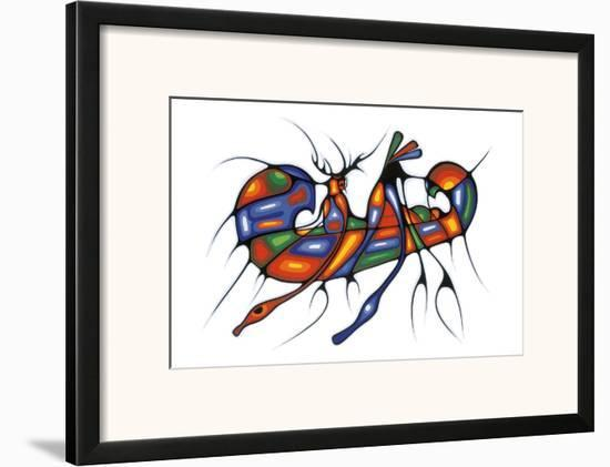 Returning Home-Cecil Youngfox-Framed Art Print