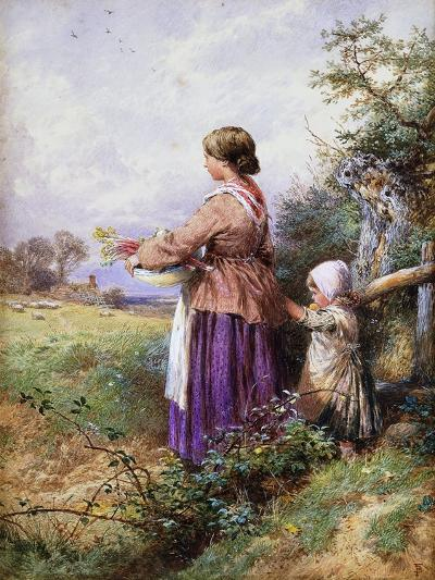 Returning Home-Myles Birket Foster-Giclee Print