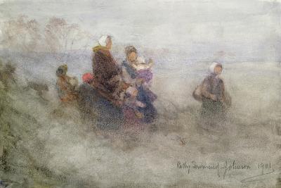 Returning Journey, 1901-Patty Townsend Johnson-Giclee Print