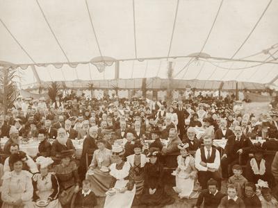 Reunion Luncheon, 1st January 1903--Photographic Print
