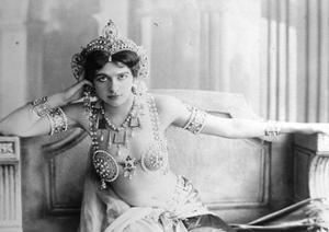 Mata Hari (1876-1917) 1905 (B/W Photo) by Reutlinger Studio