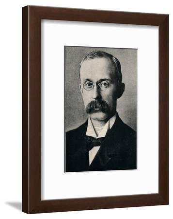 'Rev J. H. Jowett, M.A.', 1901-Ernest Herbert Mills-Framed Photographic Print