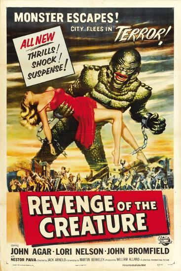 Revenge of the Creature, 1955, Directed by Jack Arnold--Giclee Print