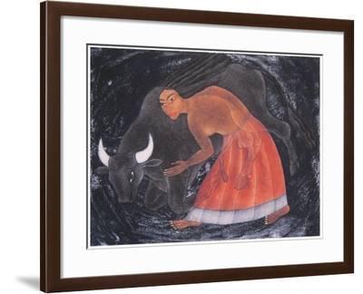 Reverencia, 2000-Juan Alcazar-Framed Giclee Print