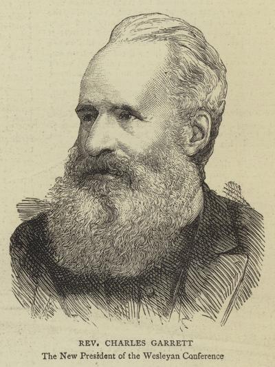 Reverend Charles Garrett--Giclee Print