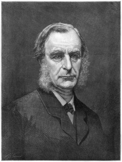 Reverend Charles Kingsley, English Cleric and Writer, 1875--Giclee Print