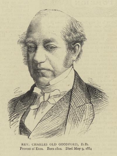 Reverend Charles Old Goodford--Giclee Print