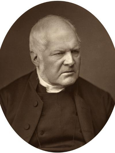 Reverend Edward Meyrick Goulburn, Dean of Norwich, 1880-Lock & Whitfield-Photographic Print