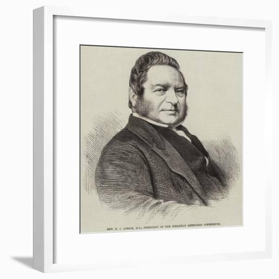 Reverend F J Jobson, Dd, President of the Wesleyan Methodist Conference--Framed Giclee Print