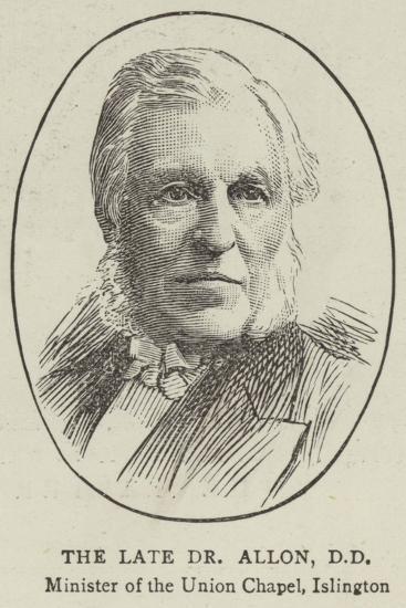 Reverend Henry Allon--Giclee Print