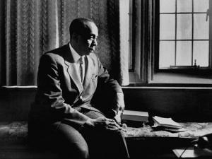 Reverend Howard Thurman, Sitting in His Study
