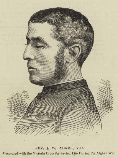 Reverend J W Adams--Giclee Print