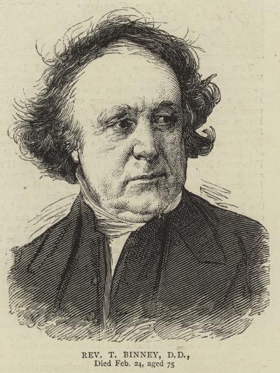 Reverend T Binney--Giclee Print