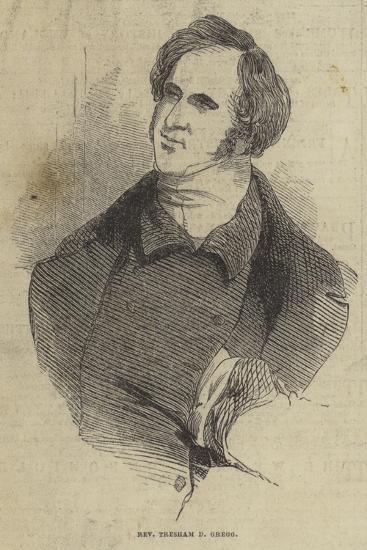 Reverend Tresham D Gregg--Giclee Print