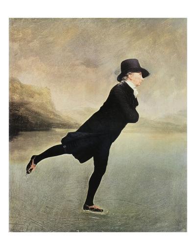 Reverend Walker Skating-Sir Henry Raeburn-Art Print