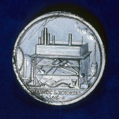Reverse of Commemorative Medal for Joseph Priestley, English Chemist, 1803--Photographic Print