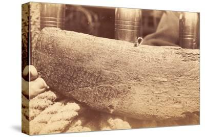 Reverse of Inscribed Wooden Tablet known as Atua Matariri, Easter Island, 1886