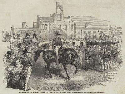 Review of the Honourable Artillery Company--Giclee Print
