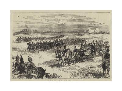 Review of Troops before the Queen, at Chobham-Charles Robinson-Giclee Print