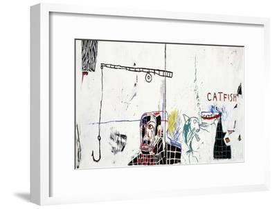 Revised Undiscovered Genius of the Mississippi Delta-Jean-Michel Basquiat-Framed Premium Giclee Print