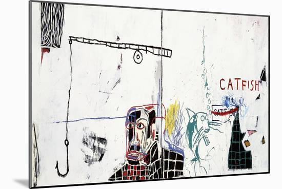 Revised Undiscovered Genius of the Mississippi Delta-Jean-Michel Basquiat-Mounted Premium Giclee Print