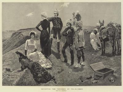 Revisiting the Trenches of Tel-El-Kebir-Richard Caton Woodville II-Giclee Print