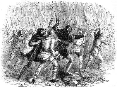 Revolt of the Citizens of London Against Matilda, 1141--Giclee Print