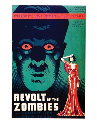Revolt Of The Zombies - 1936--Giclee Print