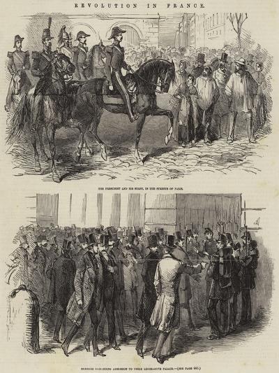 Revolution in France--Giclee Print