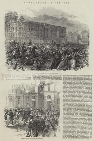 Revolution in Prussia--Giclee Print