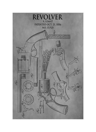 Revolver, 1856-Dan Sproul-Giclee Print