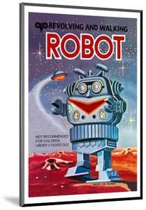 Revolving and Walking Robot