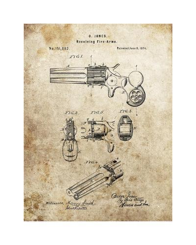 Revolving Fire Arms, 1874-Dan Sproul-Giclee Print