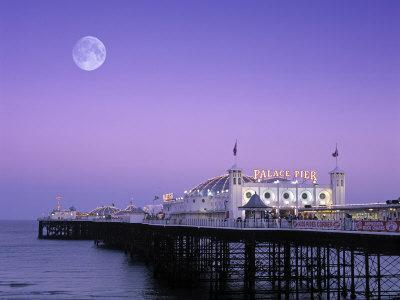 Palace Pier, Brighton, East Sussex, England