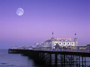 Palace Pier, Brighton, East Sussex, England by Rex Butcher