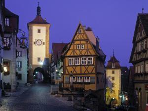 Rothenburg Ob Der Tauber, Bavaria, Germany by Rex Butcher