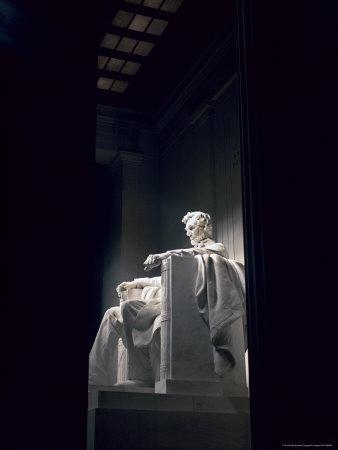 Abraham Lincoln Statue Inside the Lincoln Memorial