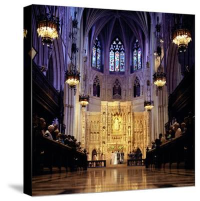 Wedding Ceremony at the High Altar of the National Cathedral