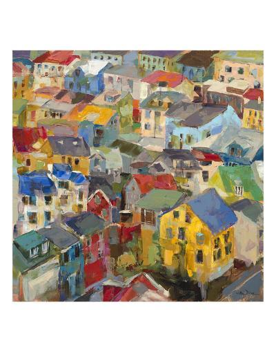Reykjavik Rooftops-Amy Dixon-Art Print