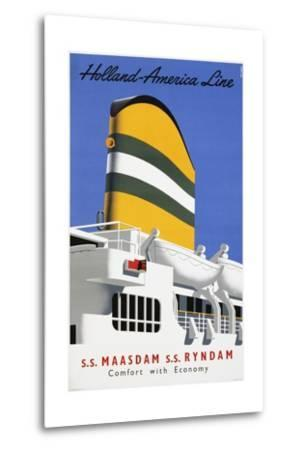 Holland America Line, Comfort with Economy Poster