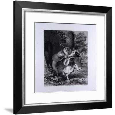 Reynard and Bellin--Framed Giclee Print