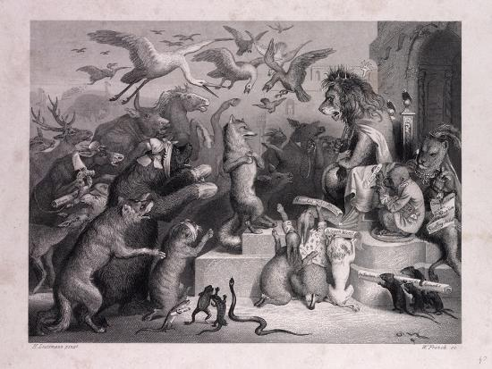 Reynard's Trial--Giclee Print